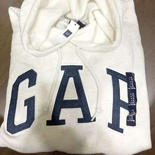 Gap米色帽T XL