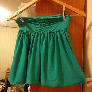 Bluejuice Teal Green Bubble Skirt