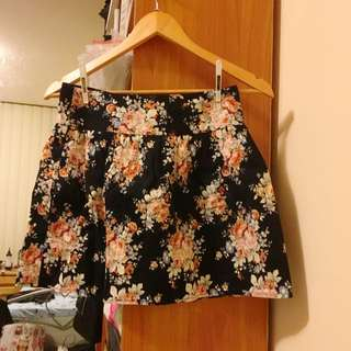 Avocado Floral Skirt Size 8