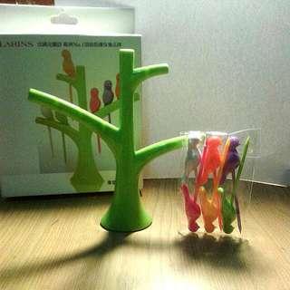 幸福小樹水果叉