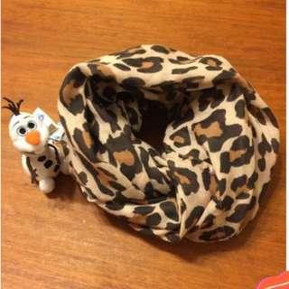 香港購買 H&M豹紋脖圍 圍巾