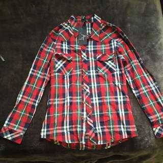 AT Men's Shirt Red