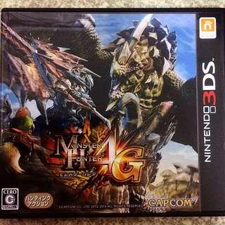 3DS 魔物獵人 4G