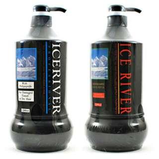 冰河 ICE RIVER 氨基酸活化護髮劑1200ml + 胺基酸洗髮精1200ml