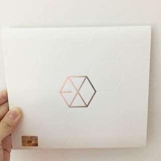 EXO EXO-K MAMA 首張專輯 空專 韓版