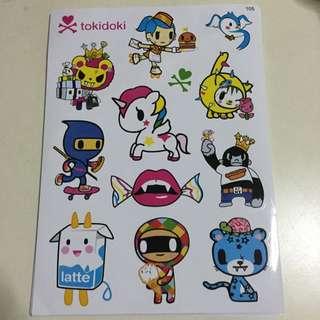 s-381 sticker tokidoki【Price Reduced】