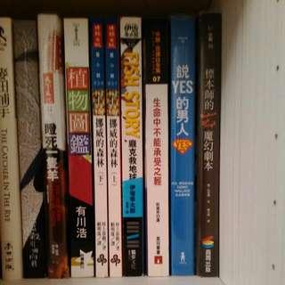 文學、翻譯小說出清