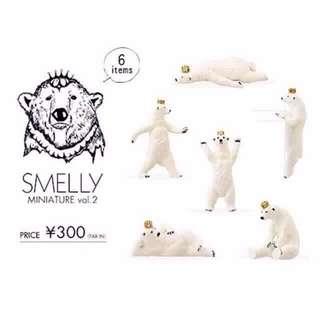 Smelly 北極熊 杯緣子