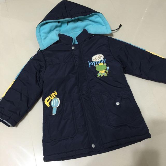 男童超保暖外套(韓製)