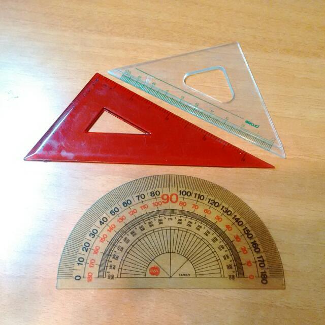 三角板們與好朋友軟量角器