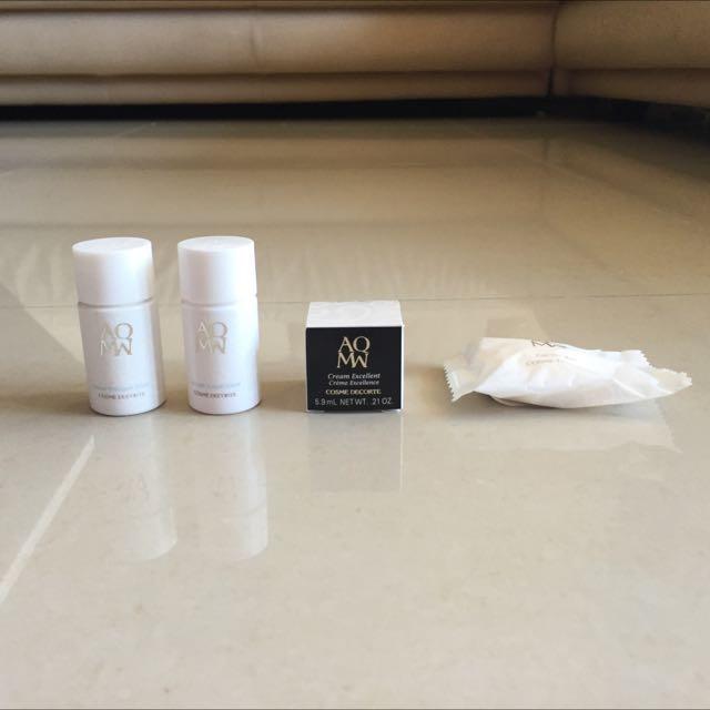 * Sukena * 黛珂 AQMQ 美白基礎保養組 (洗顏皂、美白修護乳、美白修護露、完美逆時晚霜)