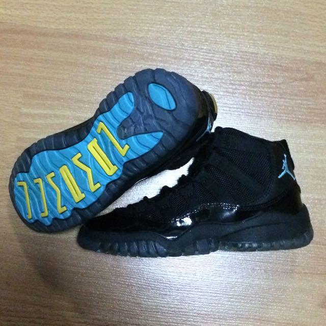 wholesale dealer 88c7b d1a7e Kids Air Jordan 11 Gamma Blue Size US11c, Babies   Kids on Carousell