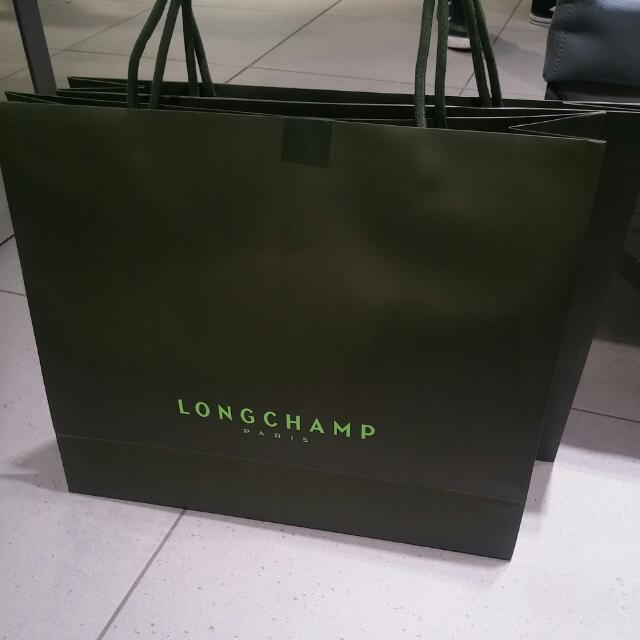 (Limited Offer) BNIB, BNWT (Authentic, Paris Exclusive design) Longchamp Le Pliage Long Strap Made in France