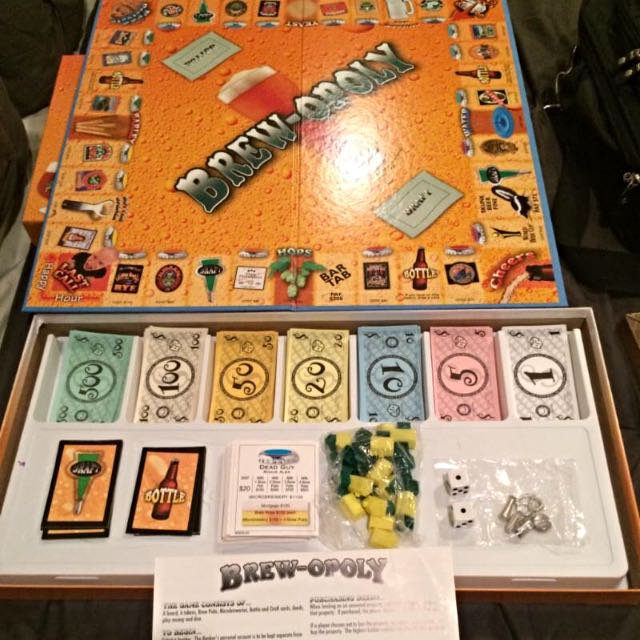 Brew-opoly | Apple To Apples | Cranium Board Games