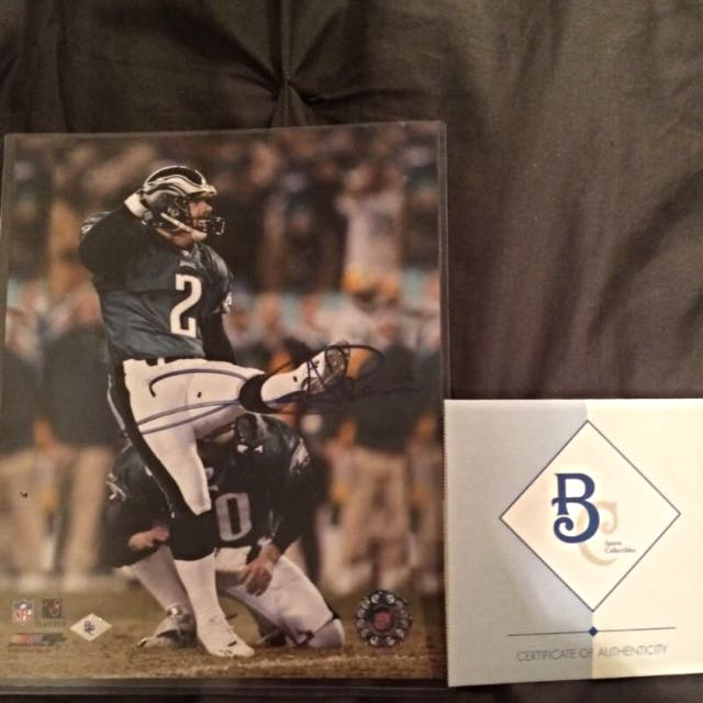 David Akers Autographed Photo