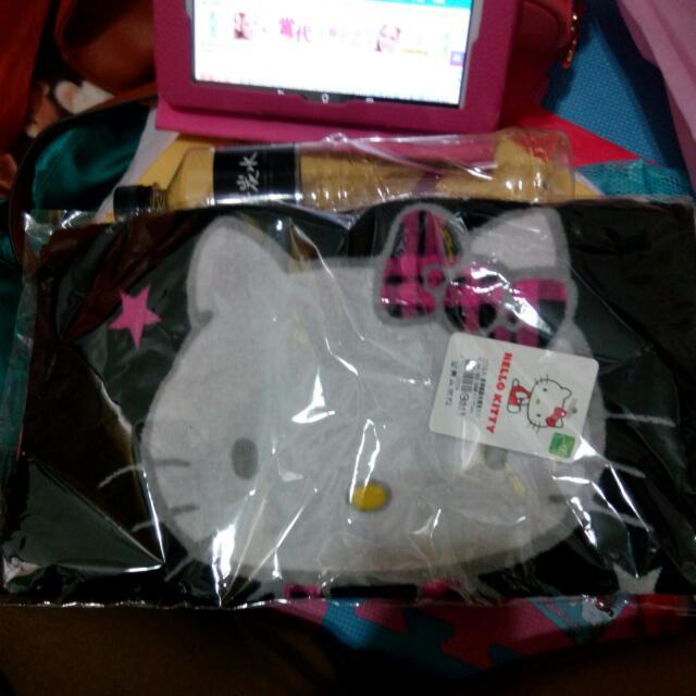 Hello Kitty 凱蒂貓 毛巾 純棉全新 33*76cm
