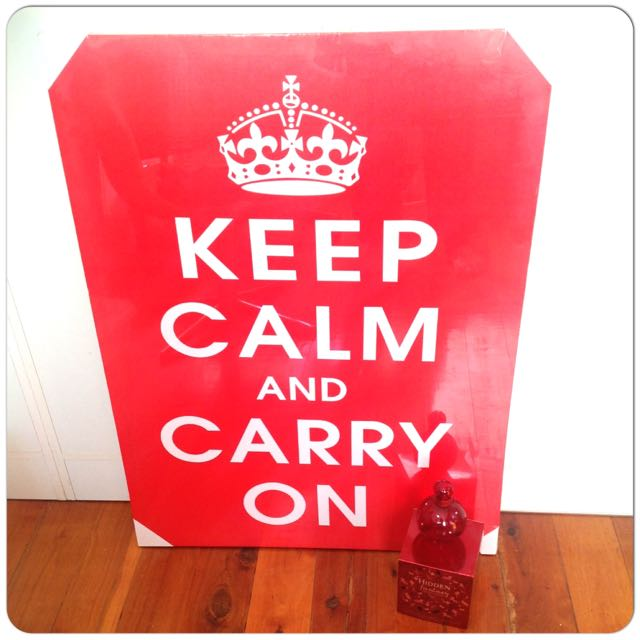 Keep Calm And Carry On Canvas