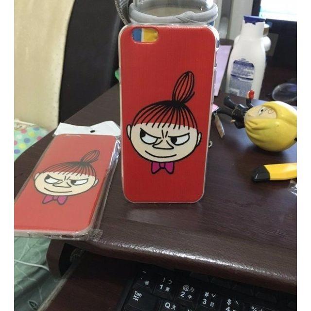 獨家阿美/小不點/little my卡通iphone手機殼保護套童趣味可愛女