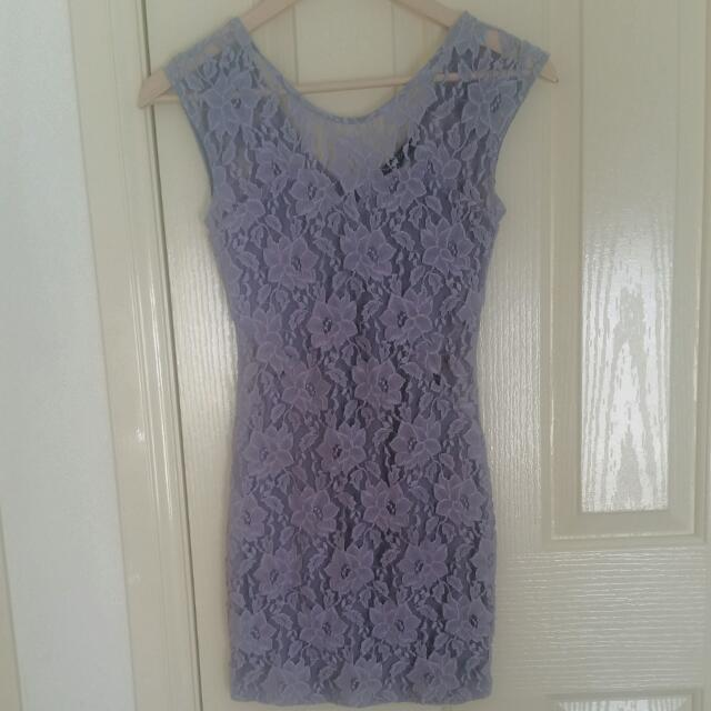 Living Doll Grey Dress Size 6