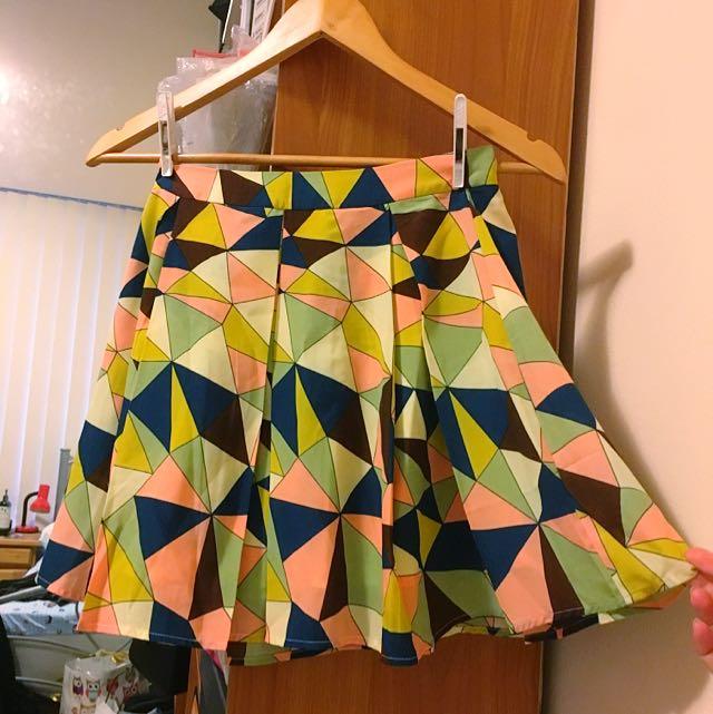 Pinclove Colourful Skirt