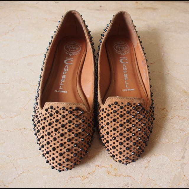 Pre-loved Jeffrey Campbell Martini Spike flats