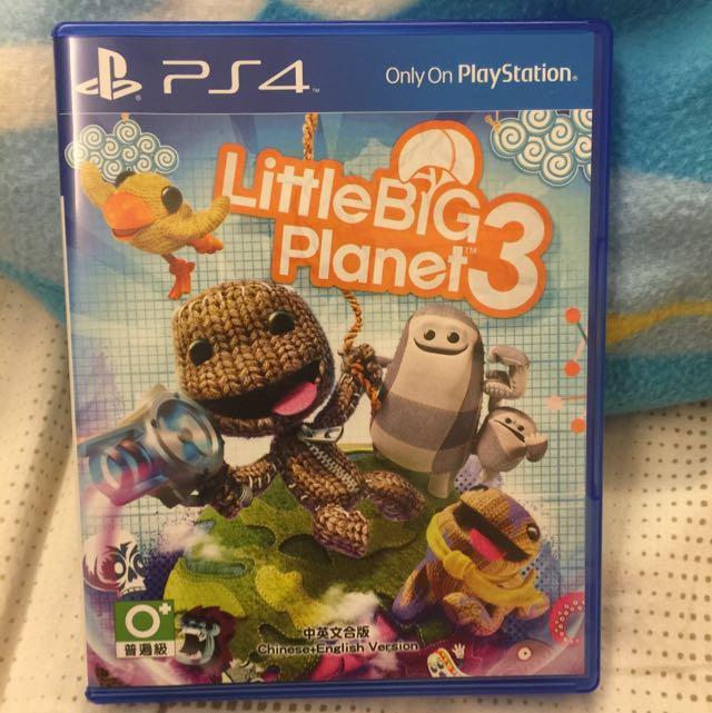 PS4 小小大星球3 中文版