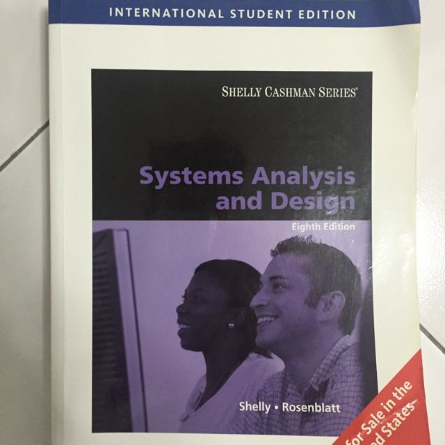 System Analysis And Design Eighth Edition Books Stationery Textbooks On Carousell