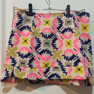 MDS COLLECTION Aztec Skirt
