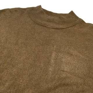 保留《gooddo•古著》清倉特價💫日本圓領素面針織上衣