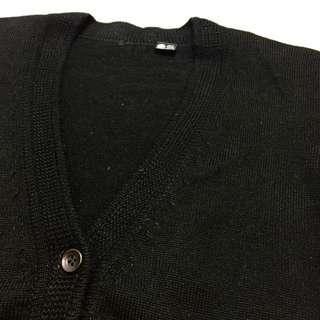 保留《gooddo•古著》清倉特價💫黑色口袋針織外套