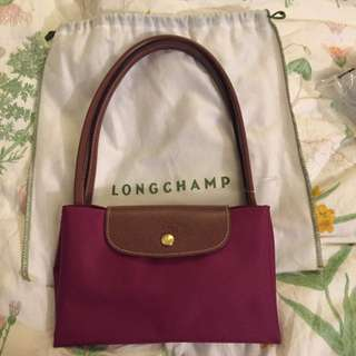 New Original Longchamp Medium Long Handle From Paris