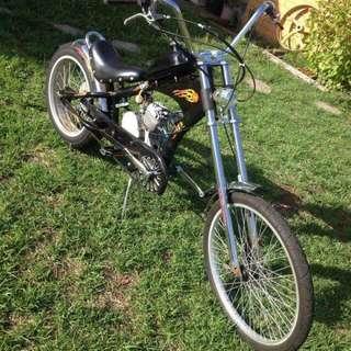 MonsterPro Motorized Beach Cruiser/chopper