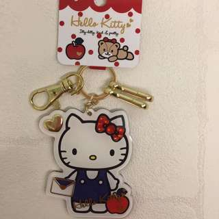 Kitty 日本帶回 鑰匙圈