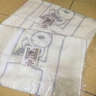 阿朗基公寓見面禮panda熊貓毛巾