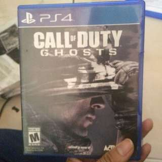 Ps4 Used Game COD Ghost