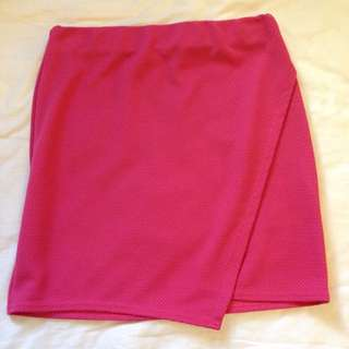 Pink Tube Skirt Size 12