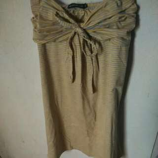 Dress Kemben Kuning ( Ada 2 Pcs )