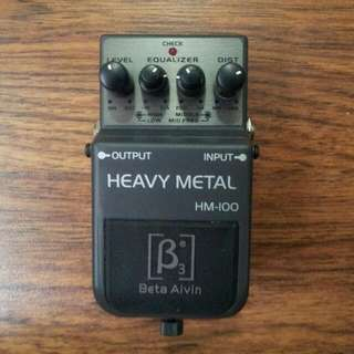 Beta Alvin - Heavy Metal Distortion Pedal
