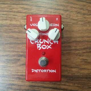 Crunch Box Distortion Pedal
