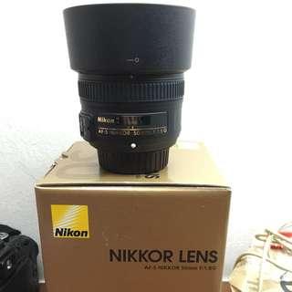 AF-S Nikon 50mm f/1.8G