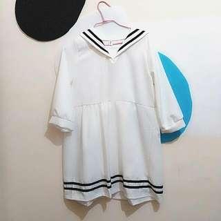 日系軍風洋裝