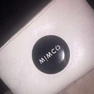 White Leather Mimco