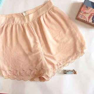 Peach Chiffon Short