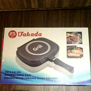 RESERVED - Takada Double Grill Pan