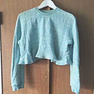 Pageant Cropped Sweater