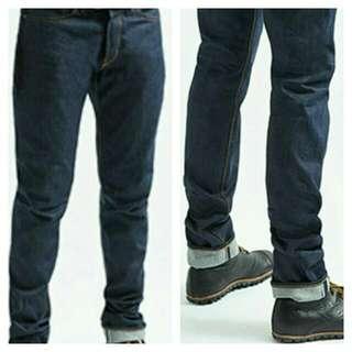Authentic Lee countoured slim fit jeans[blue]