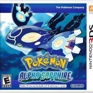 WTB Pokemon alpha sapphire