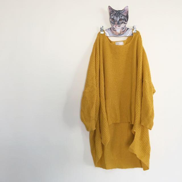 韓國購入修身顯瘦針織衫上衣