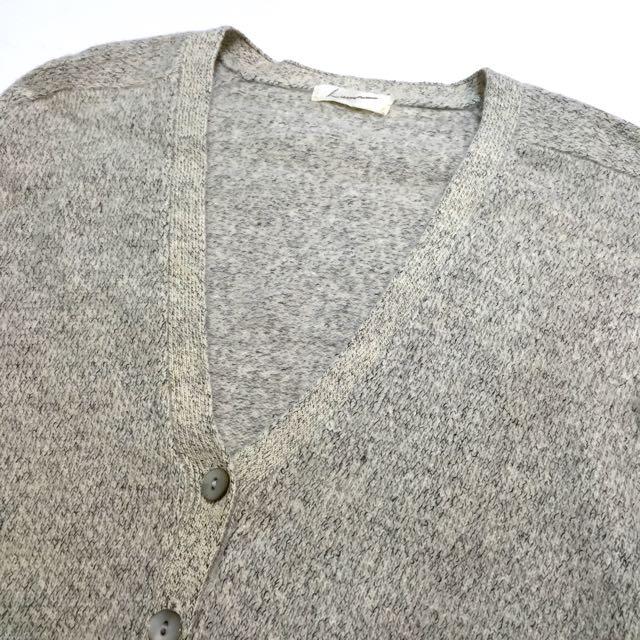《gooddo•古著》清倉特價💫日本灰混色針織外套