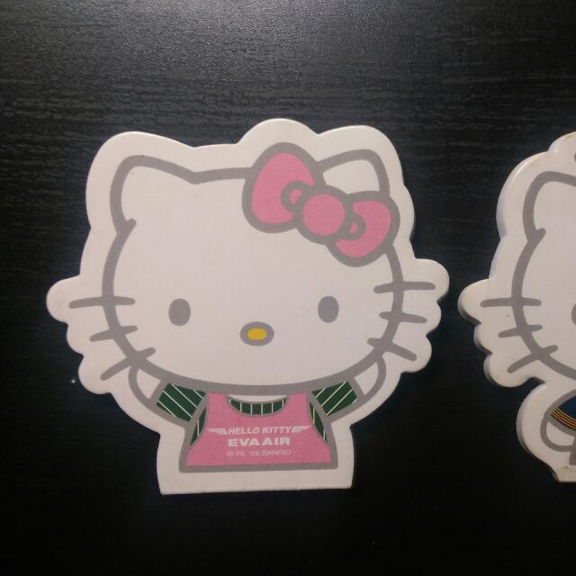 (售出)加購品/Hello Kitty飛機 便利貼